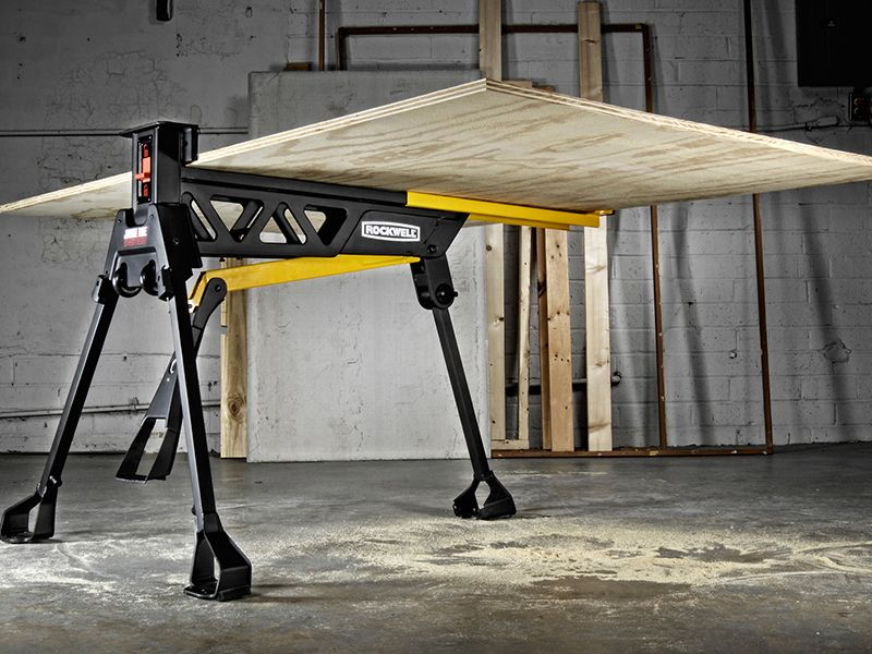Jawhorse Sheetmaster Portable Workstation Yes The Sheetmaster Holds A Full Size 4x8 Sheet Wood Turning Wood Turning Projects Used Woodworking Tools