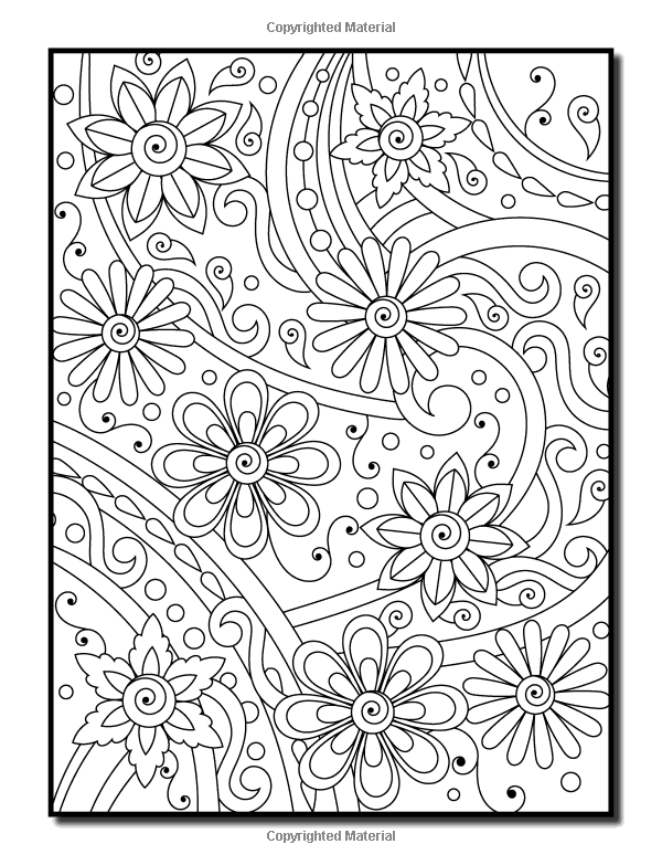 Amazon Com Coloring Books For Adults Relaxation 100 Magical Swirls Coloring Book With Fun Easy And R Coloring Pages Coloring Pictures Flower Coloring Pages