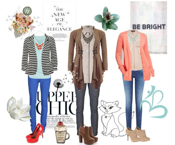 """""""Layers and statement necklaces"""" by aniri310 on Polyvore"""