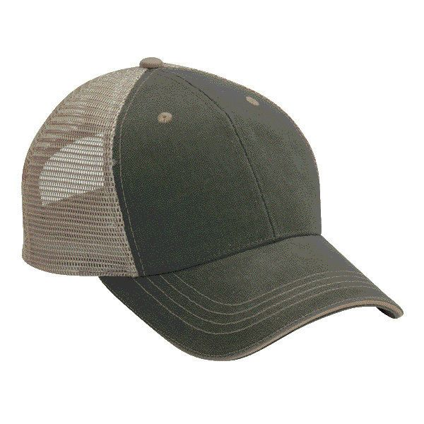 1 Dozen (12 ) Blank Trucker Hats Olive Green Khaki Cotton  Mesh FAST SHIP!   Cobra  Trucker 93374d491db