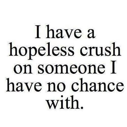<3 hopeless crush. #quote