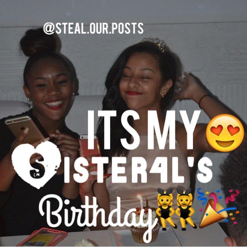Pin Von Mss Toney Auf Birthday Steal Our Post Steal Our Post Mood Und Birthday Captions
