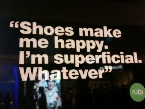 I'm superficial. Whatever