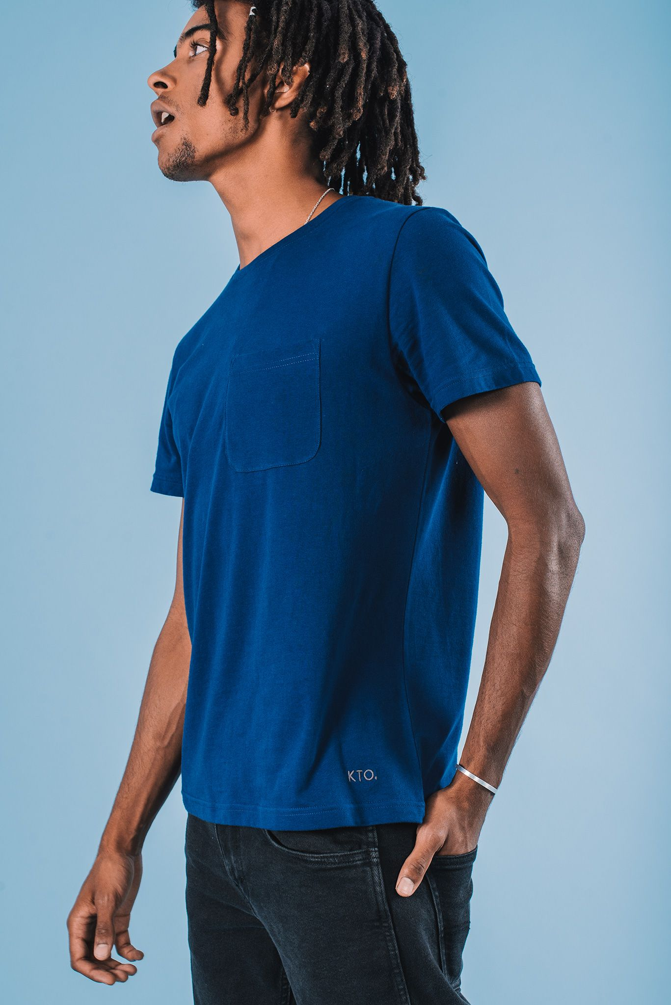 e724ee21 Blue Pocket Foundation Tee #shop #ethicalfashion #fashion #ecofriendly  #sustainable