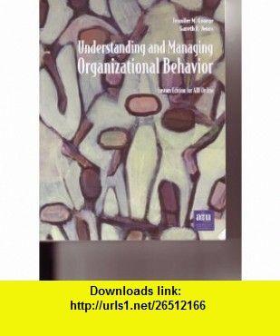 Understanding and managing organizational behavior 9780536707246 understanding and managing organizational behavior 9780536707246 jennifer m george gareth r fandeluxe Images