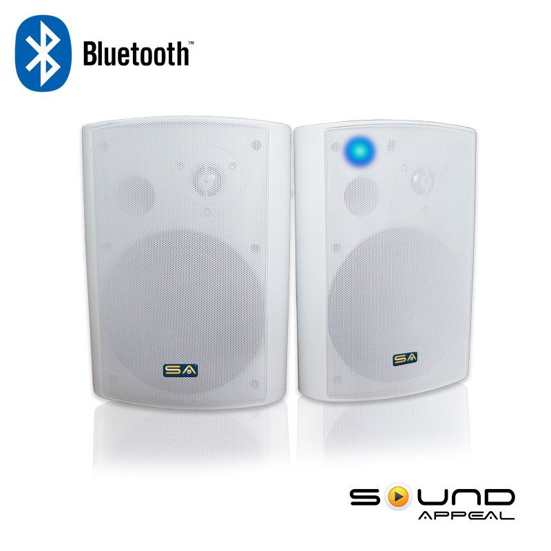 Wireless Outdoor Speakers with Bluetooth for deck, basement, or ...