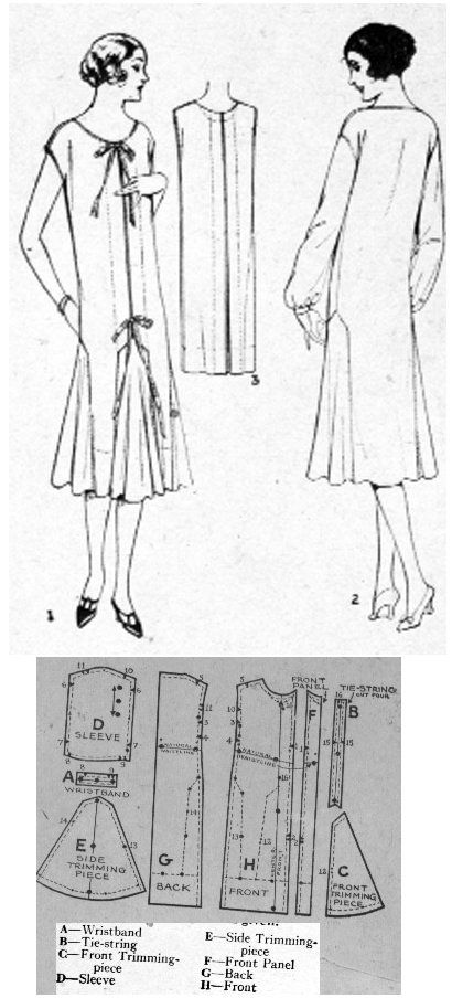 1925 Day Dress http://copa.apps.uri.edu/sample_picture.php?image ...