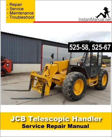 Download JCB 525-58 525-67 Telescopic Handler Service Repair Manual on