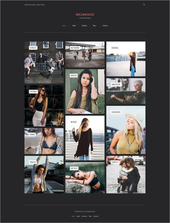 Search Creative Photography WordPress Theme Collections - Photography website templates free download