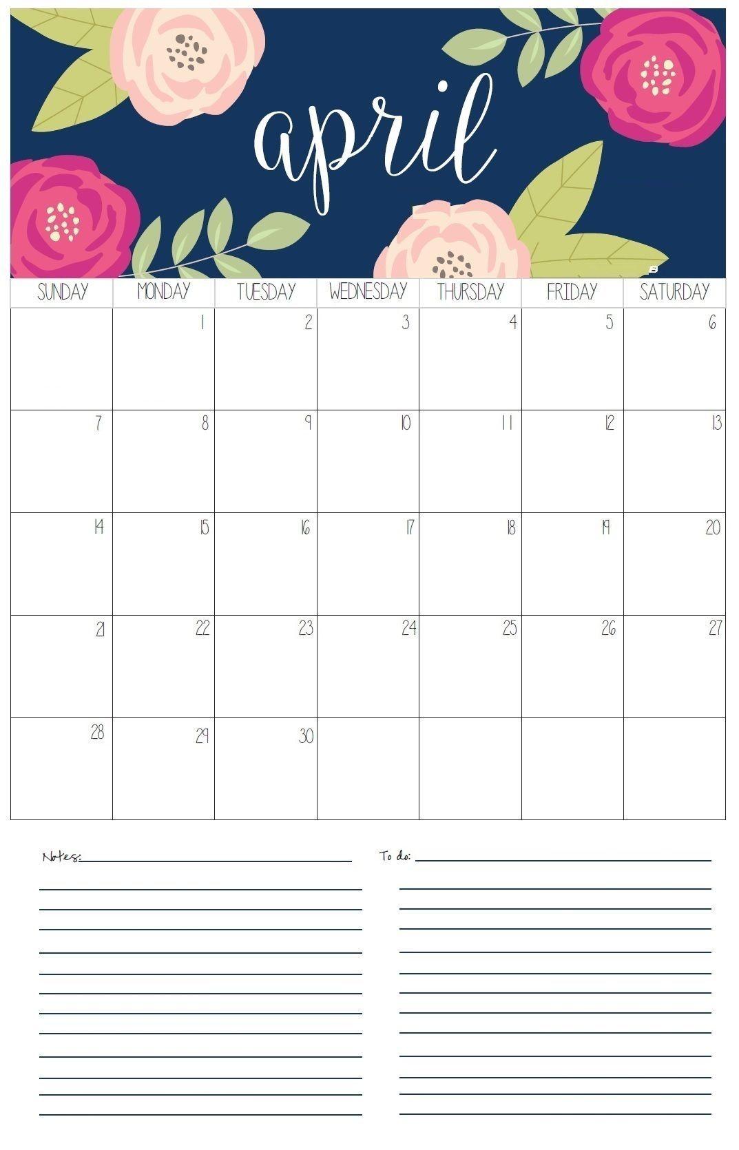 April 2019 Desk And Wall Calendar Wall Calendar Print Calendar