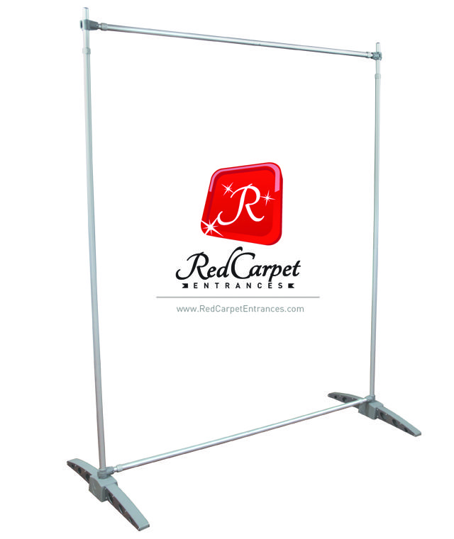 Step And Repeat Banner Stand 10x8 Adjustable Telescopic Red Carpet Runner Red Carpet Backdrop Event Shop Banner Stands Red Carpet Backdrop Red Carpet Runner