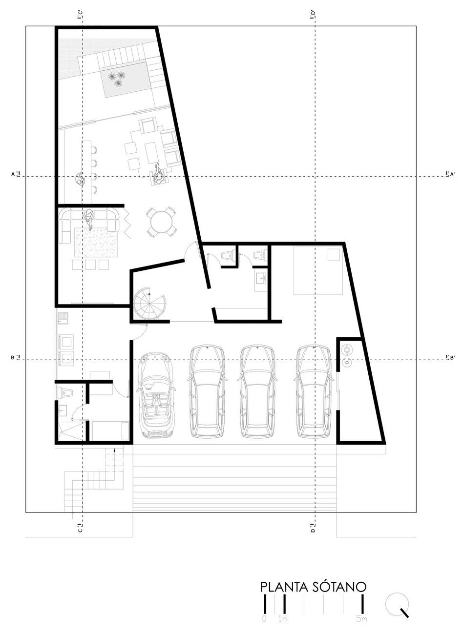 Planos de casa grande con piscina, exclusivo diseño de ...