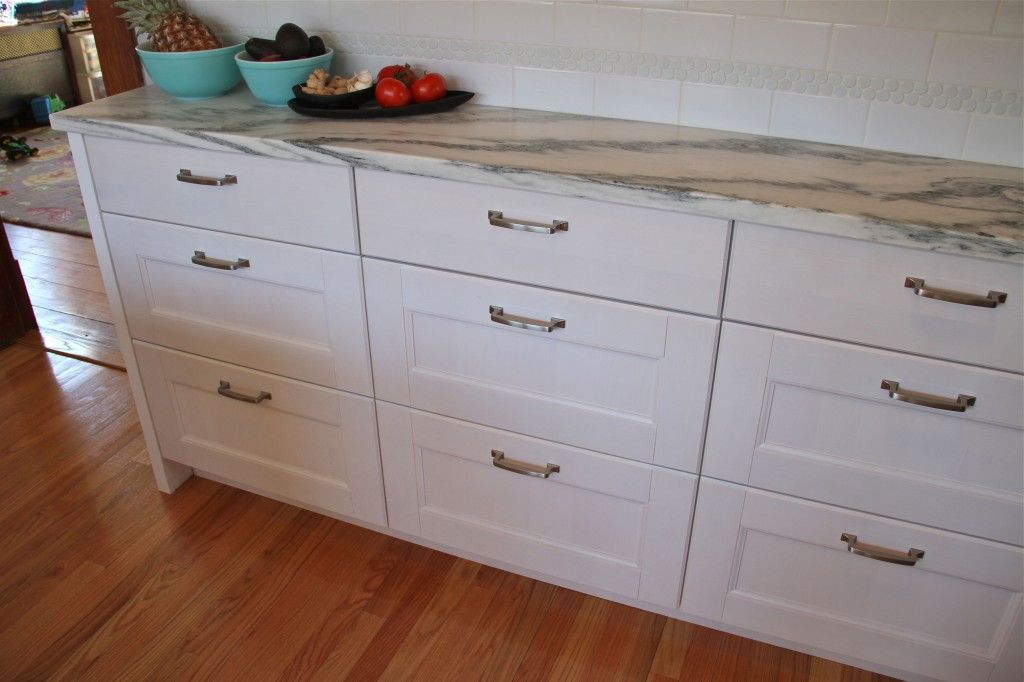 After Mr And Mrs K Were Able To Find Shallow Depth Lower Cabinets