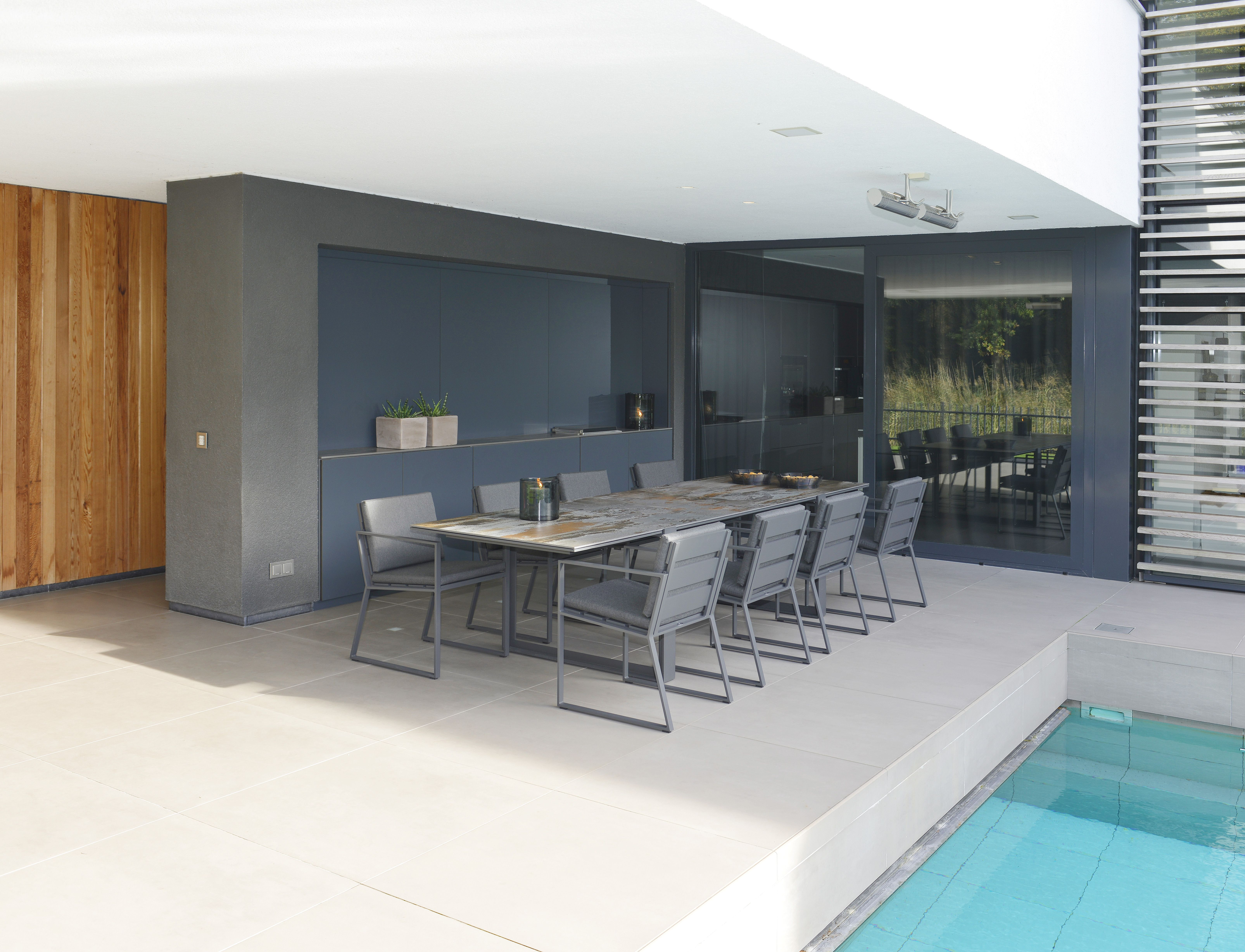 Rl interior concepts outdoor furniture borek collection