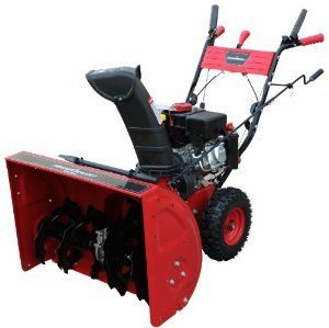 Power Smart Db7651 24 Inch 208cc Lct Gas Powered 2 Stage Snow