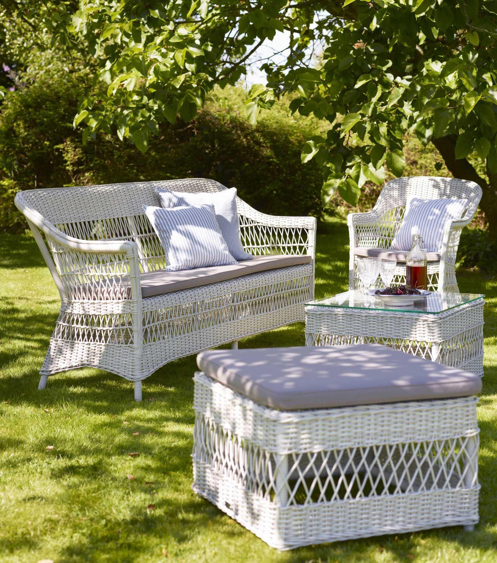 Sika Design Georgia Garden Gartensofa Charlot 3-Sitzer   Georgia and ...