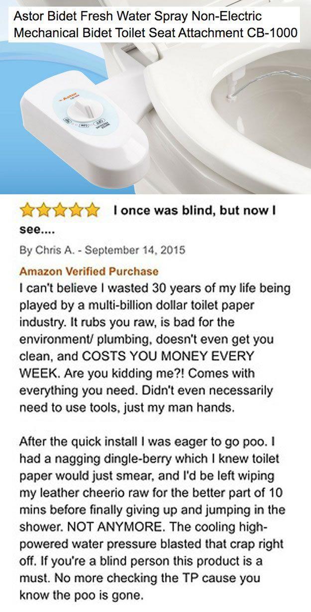 checking amazon reviews