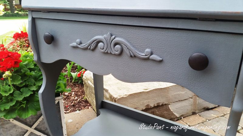 Add a carved wood applique to a plain desk you can find a wh