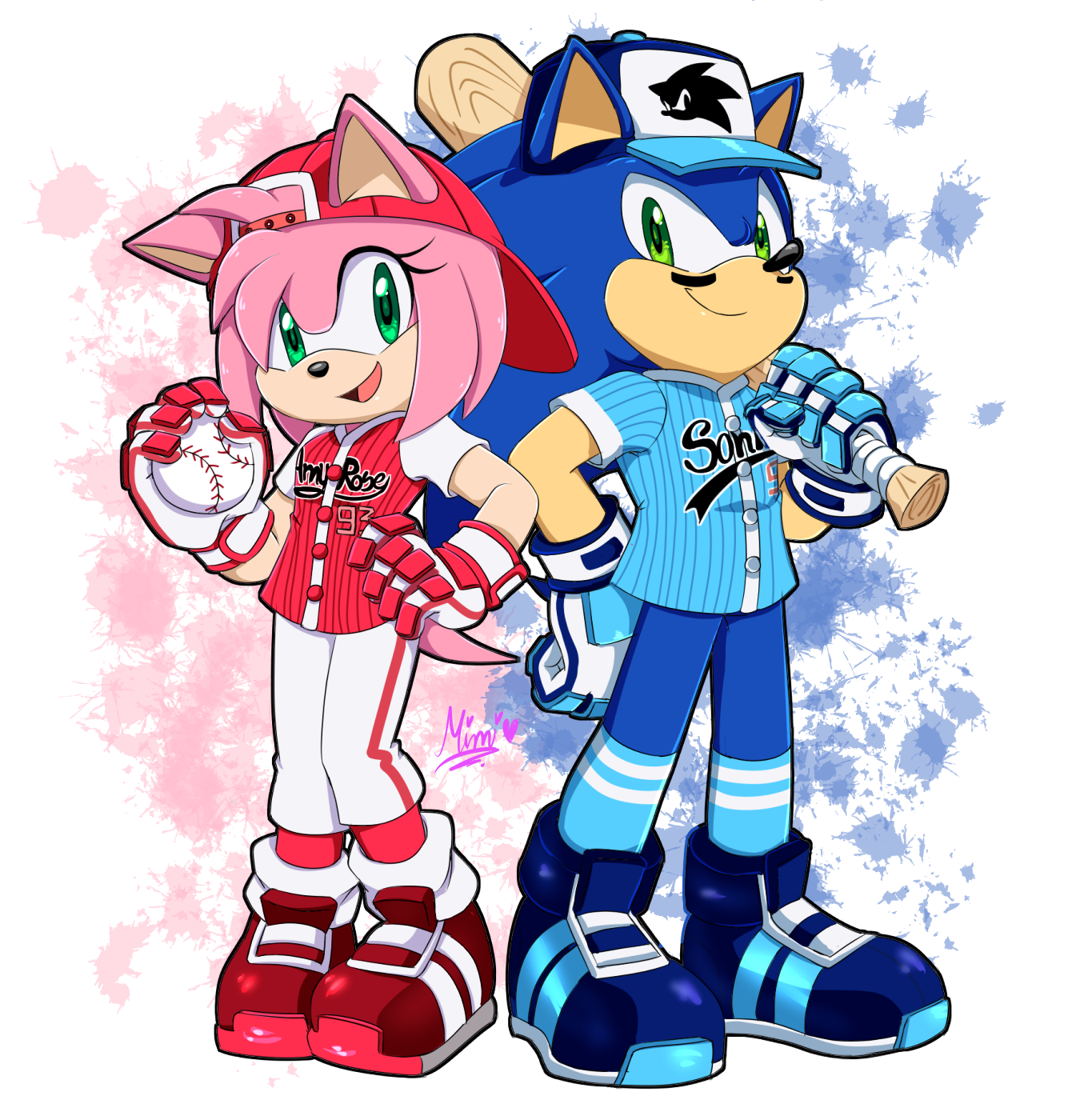 Pin On Sonic And Amy