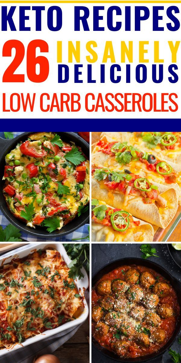 26 Keto Casserole Recipes That Will Save Your Sanity & Budget On The Keto Diet images