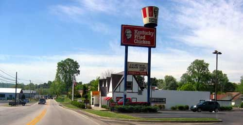 The First Kfc Visited Here By Accident Fried Chicken