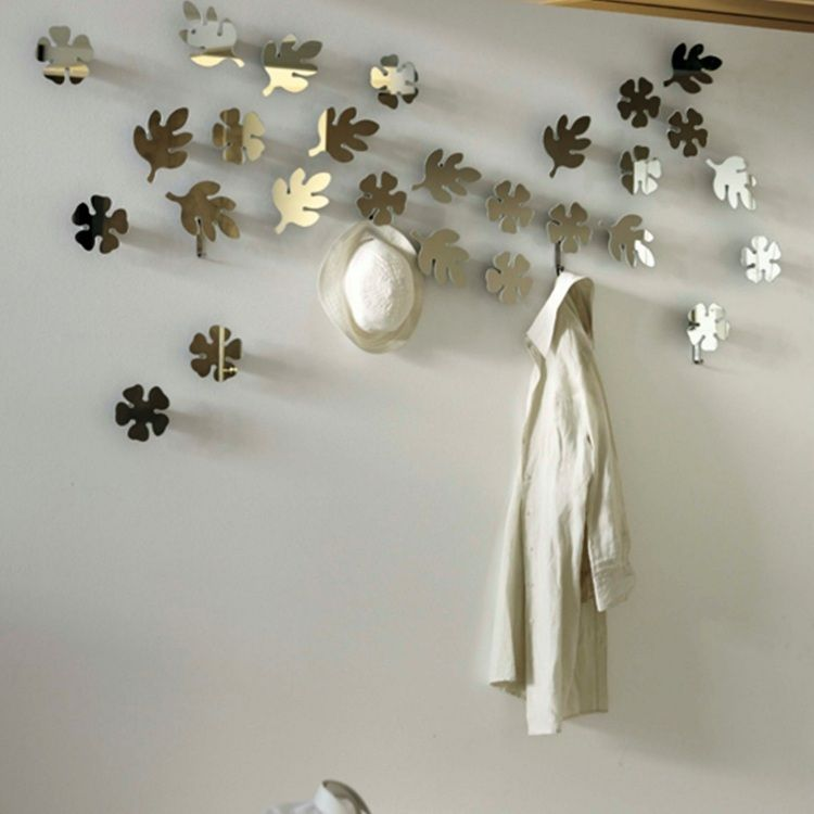 porte manteau mural super original en 32 id es de bricolage porte manteau pinterest wall. Black Bedroom Furniture Sets. Home Design Ideas