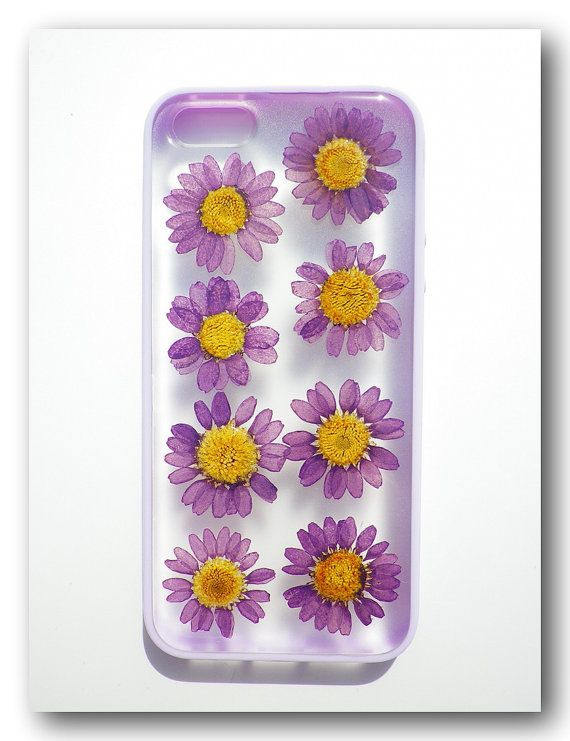 Handmade iPhone 5 case Resin with Real Flowers by Annysworkshop, $19.00