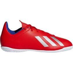 Adidas Herren X Tango 18.4 In Fußballschuh, Größe 33 in Rot/Silber/Blau, Größe 33 in Rot/Silber/Blau