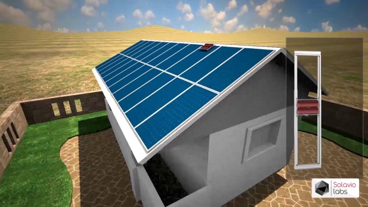 3d Animation Solavio Labs Solar Cleaning Robot Demo Https Cstu Io 16c4e0 In 2020 Cleaning Robot Solar Solar Panels