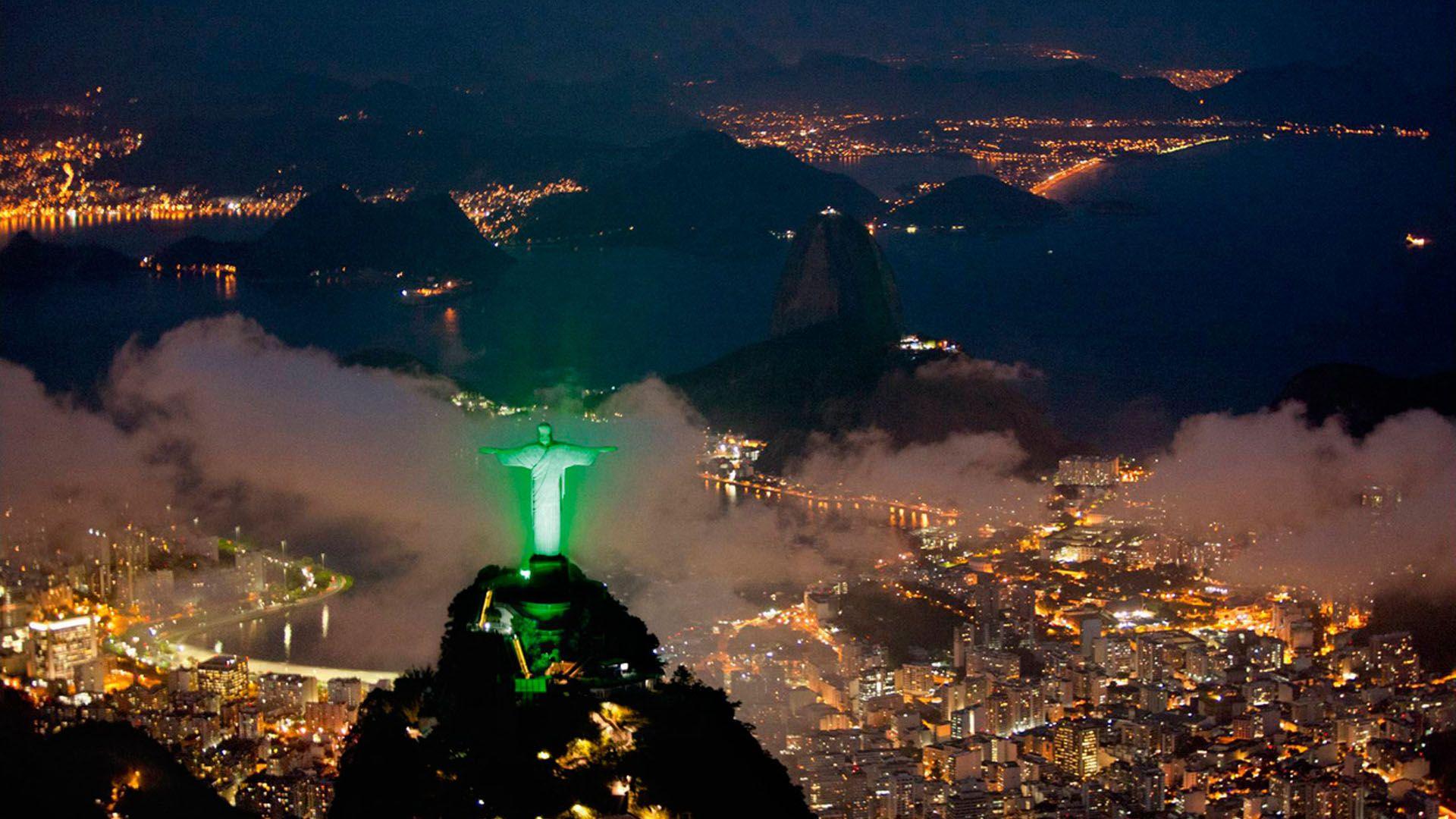 Hd wallpaper travel - Image For Jesus Statue In Brazil Struck By Lightning Hd Wallpaper