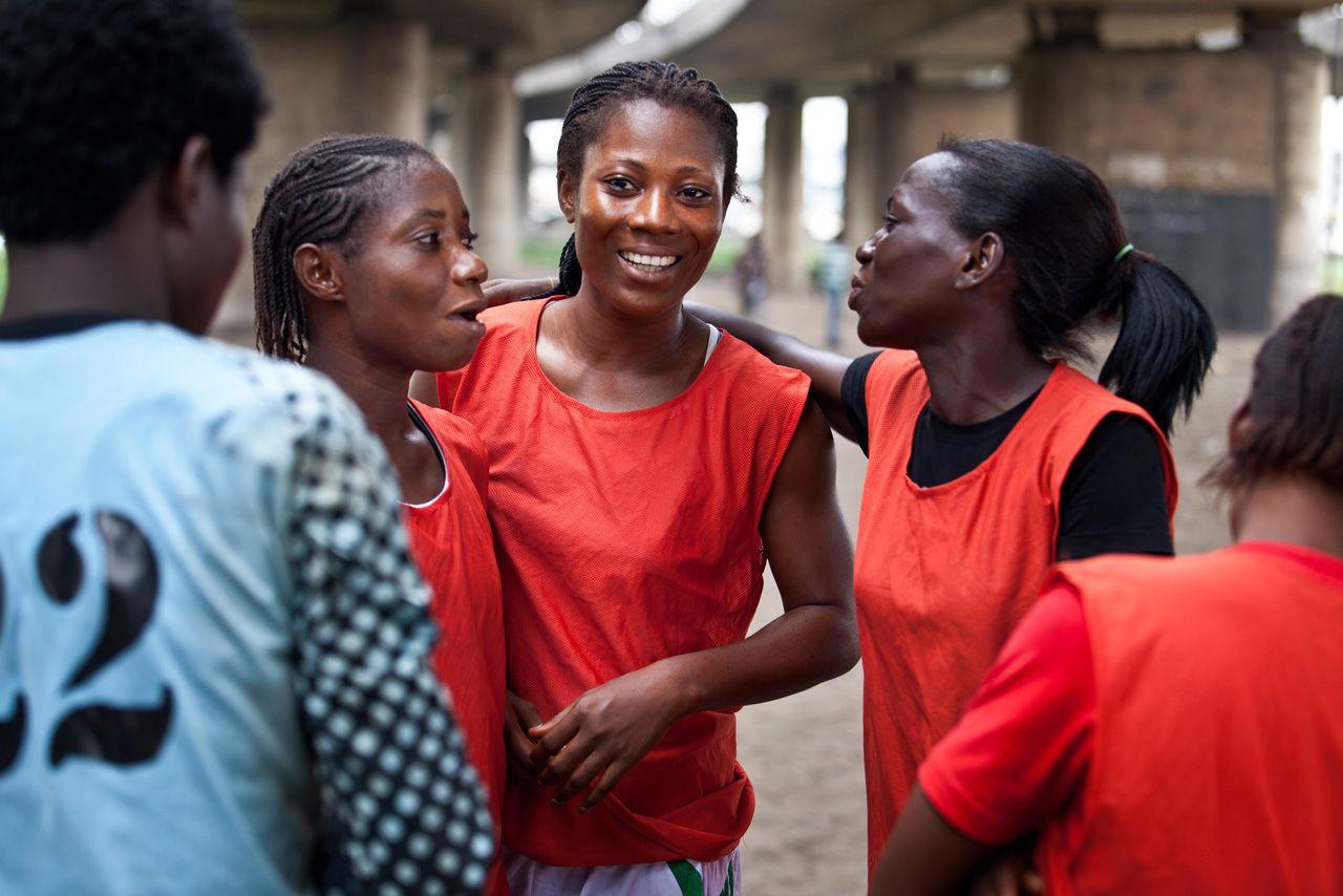 las reinas del fútbol http://mygirls.adidas.com/latin-america/stories/nigeria-football/ via @adidasWomen #mygirls