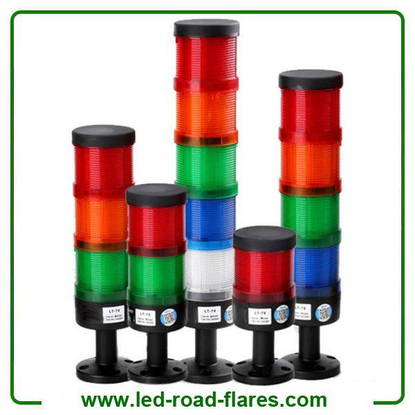 110v X2f 220v 12v X2f 24v Led Stacking Lights Beacon With Buzzer Industrial Signal Alarm Light Tower Light Lamp Light Led Color