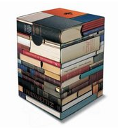 Pretend pile of books stool or side table - Submit by Wen
