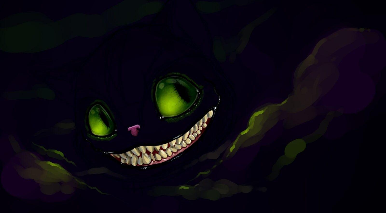 Картинка улыбка чеширского кота, девушками