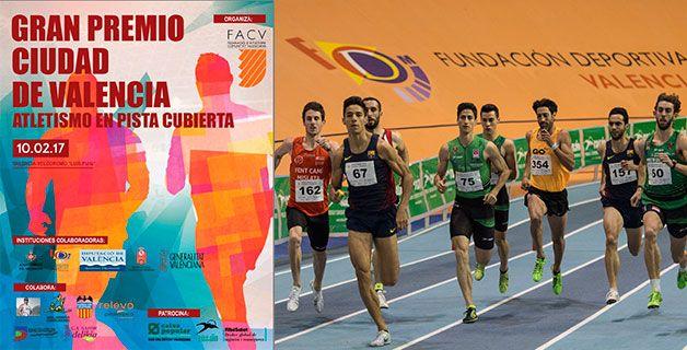 El Gran Premio de Atletismo Ciudad de Valencia, siguiente etapa del calendario nacional de pista cubierta.