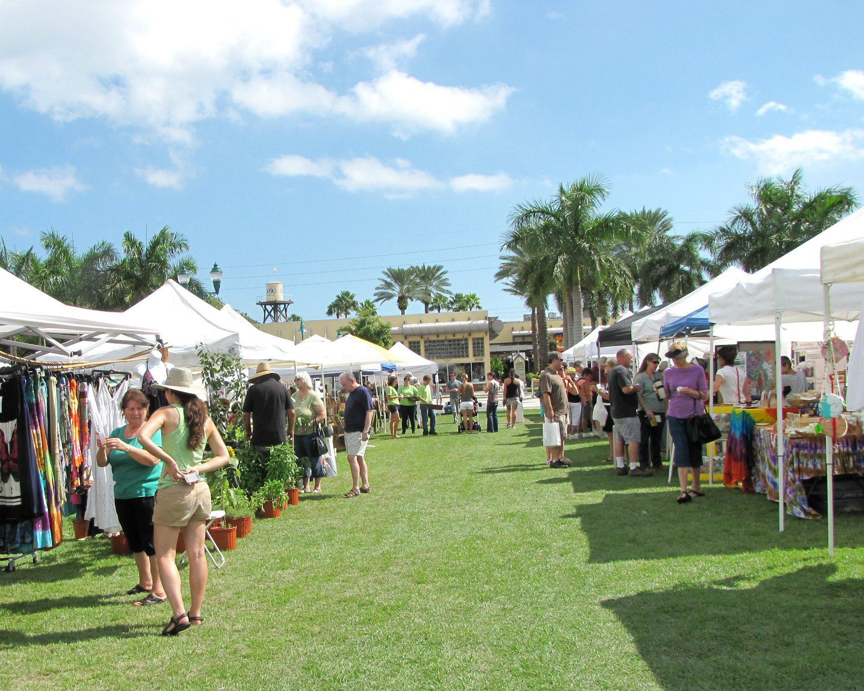 Our Fabulous Green Market In Downtown Delray Family Beach Vacation