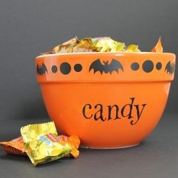 Simple makeover by adding vinyl to create this cute Halloween ...