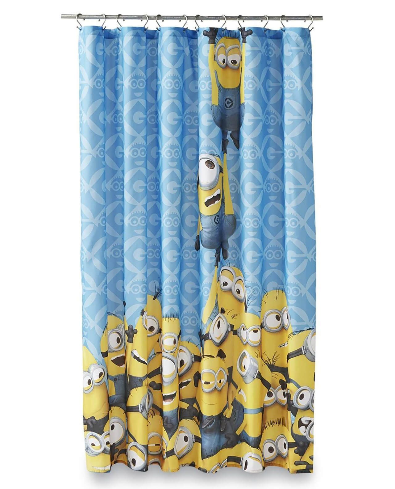 22 Shower Curtains Your Kid Will Love Fabric Shower Curtains Kid Bathroom Decor Kids Shower Curtain