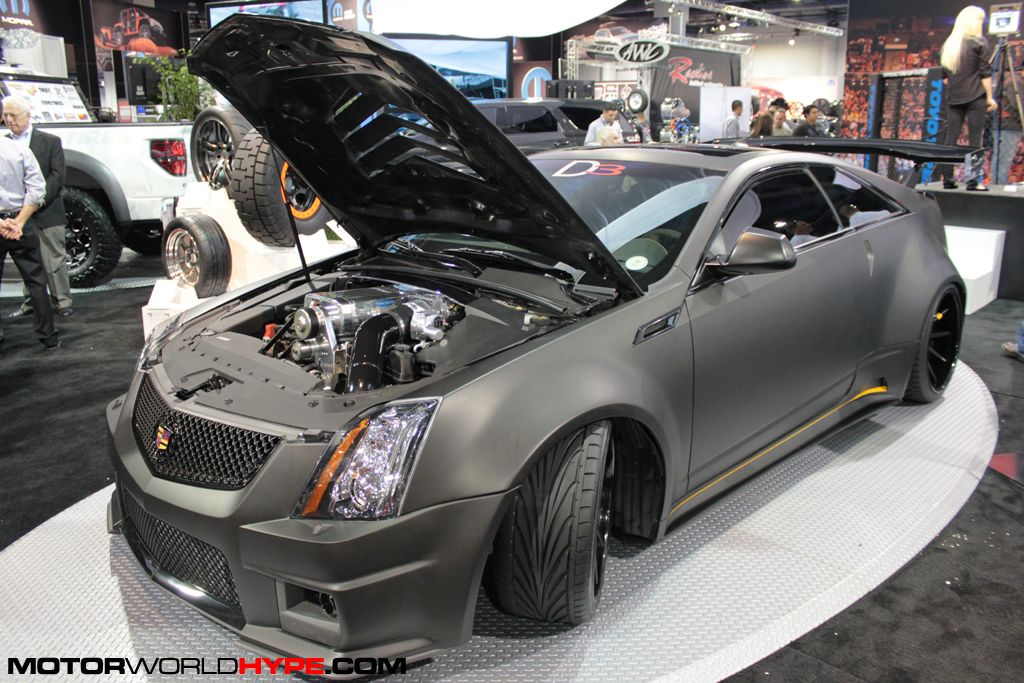 #Cadillac #CTS-V #Coupe #Modified #D3_Performance #Wide_Body #SEMA