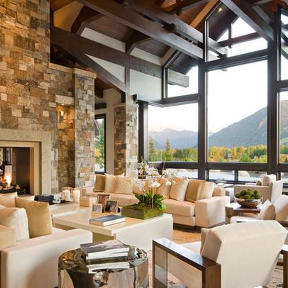 Mountain Home Design Ideas, Pictures, Remodel, and Decor - page 8 ...