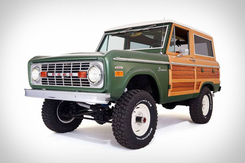 Woody Ford Bronco Ford Bronco Classic Ford Broncos Bronco