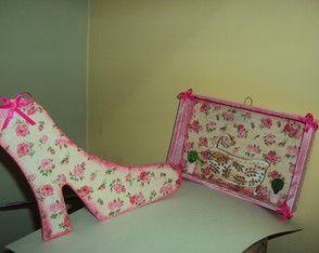 Calço de porta sapato e placa de porta Banheira