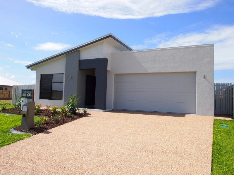 4 bedroom skillion roof home in kalynda chase built by for Beach house designs townsville