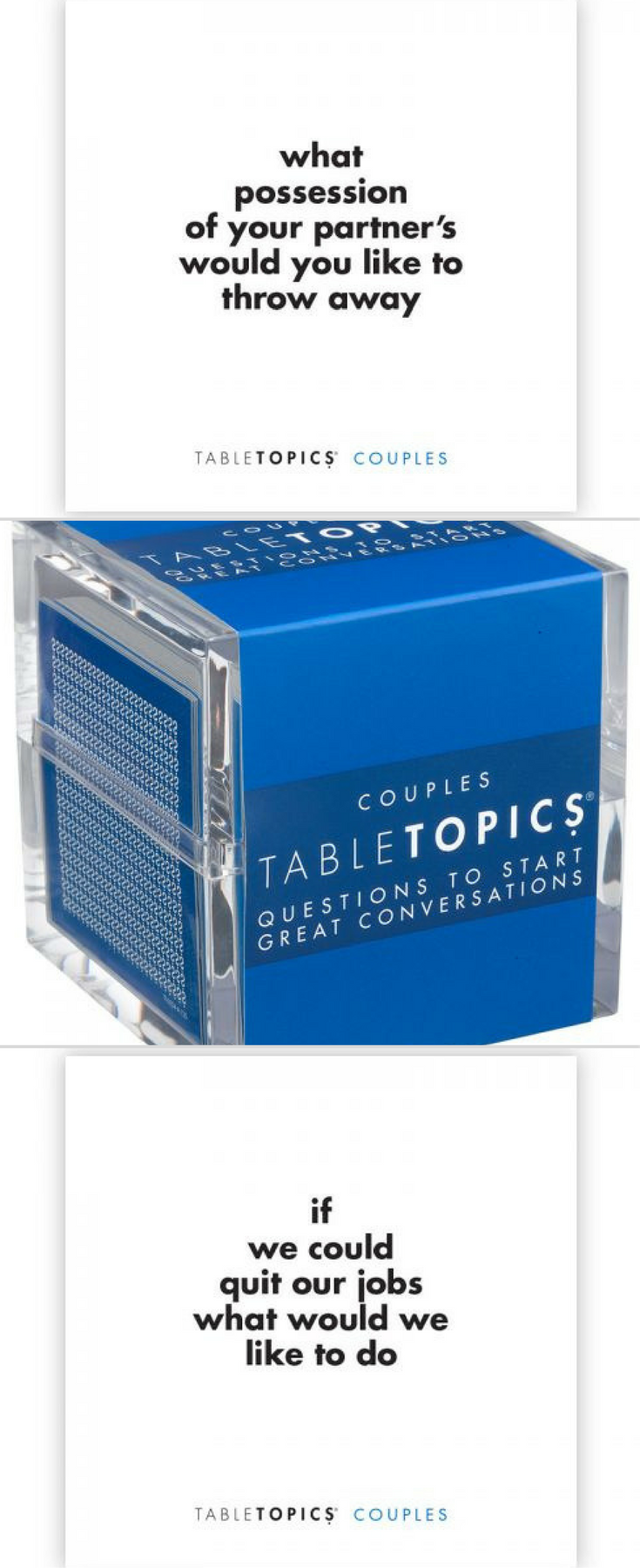Table topics couples edition