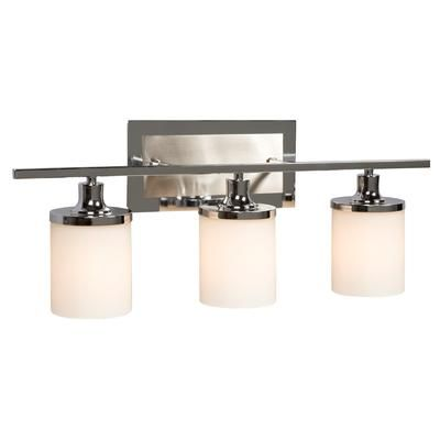 hampton bay 3 light chrome wall light 001 70243ch home depot