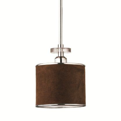 View the eurofase lighting 15860 savvy 1 light mini pendant with view the eurofase lighting 15860 savvy 1 light mini pendant with faux suede drum shade at aloadofball Gallery