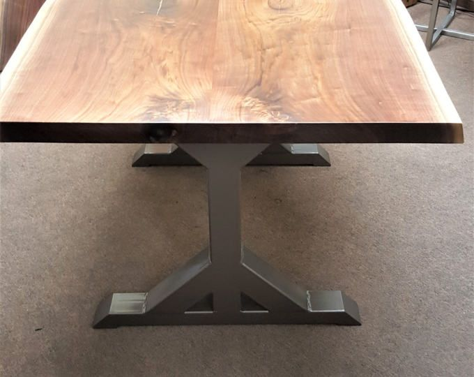 Modern Dining Table X Legs Model Tts09 Heavy Duty Metal From 3 1 Tubing