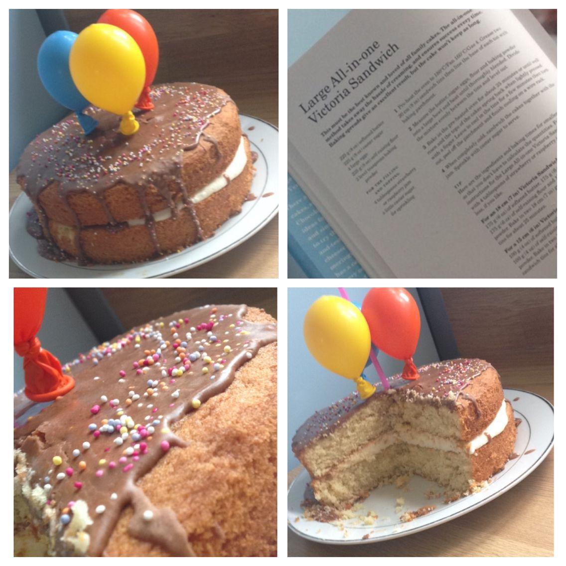 Made Mums Birthday Cake Yesterday Using Mary Berrys Victoria