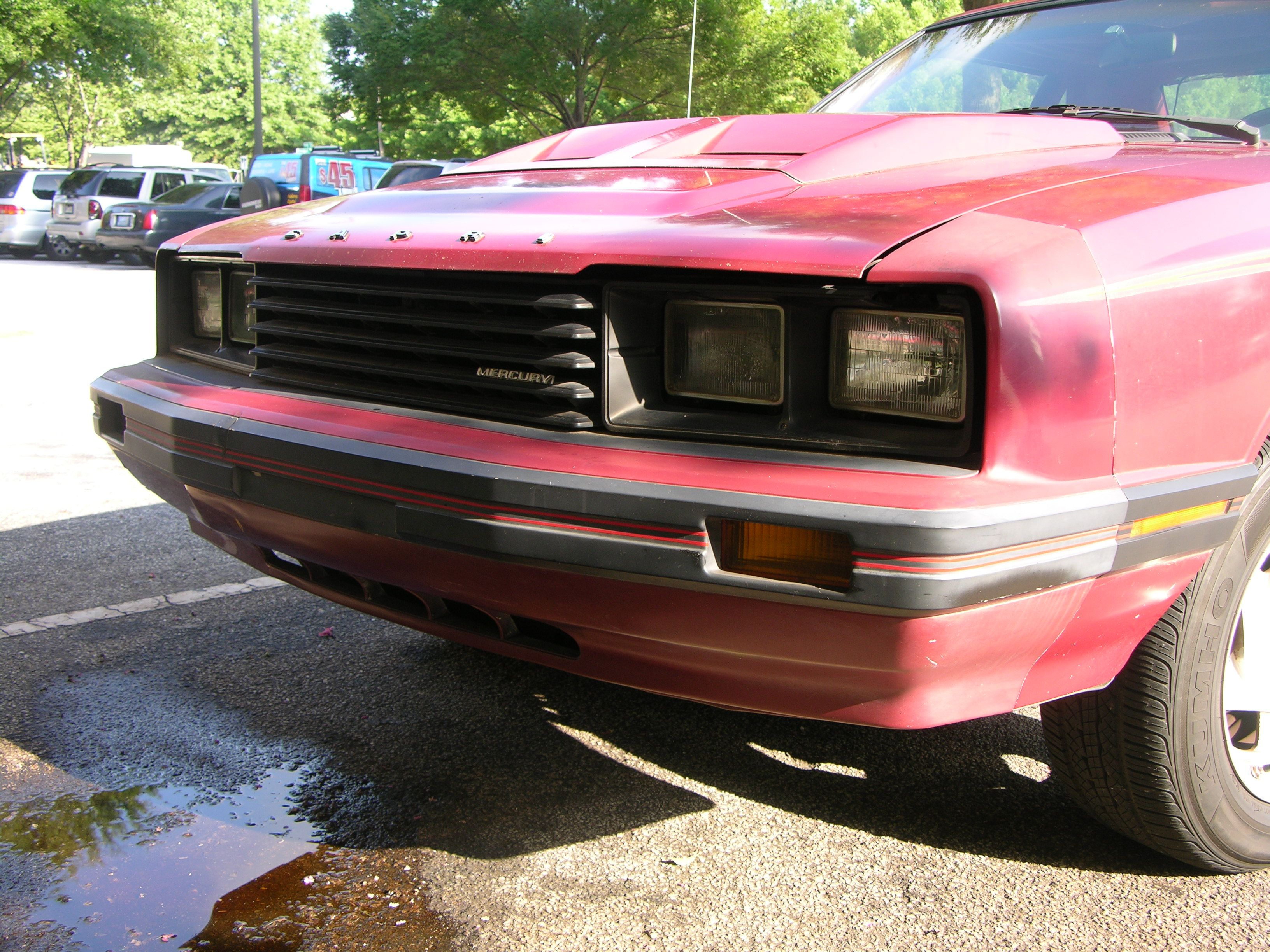 William mccluskey brought his rare 1982 capri rs by mustangs unlimited to pick up a few
