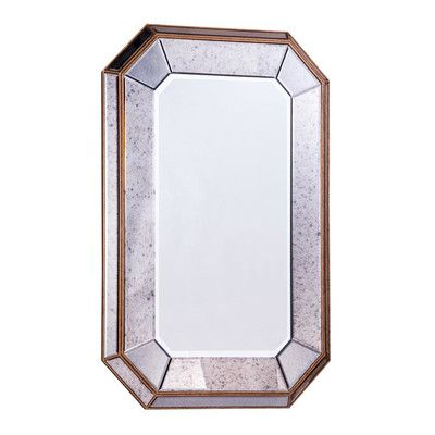 Wildon Home  Antique Wall Mirror